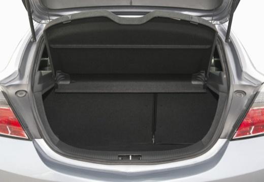 OPEL Astra III GTC I hatchback szary ciemny przestrzeń załadunkowa