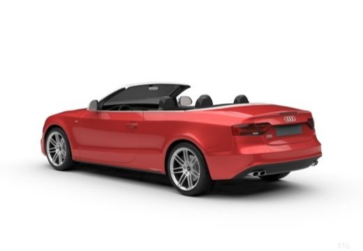 AUDI A5 Cabriolet II kabriolet tylny lewy