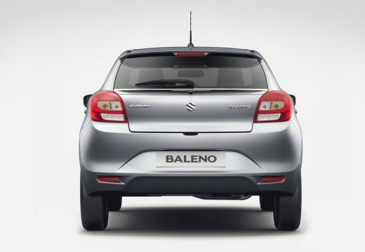 SUZUKI Baleno II hatchback silver grey tylny