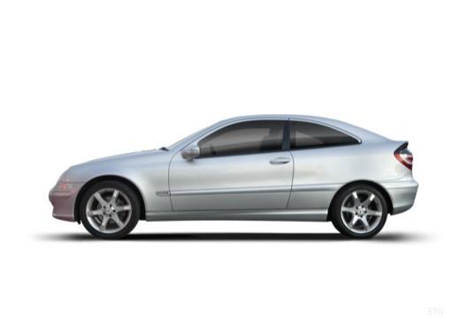 MERCEDES-BENZ Klasa C Sport CL203 II coupe boczny lewy