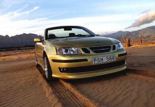 SAAB 9-3 Cabriolet II kabriolet złoty przedni prawy