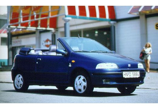 fiat punto 1 2 s kabriolet cabriolet 1 3 60km 1997. Black Bedroom Furniture Sets. Home Design Ideas
