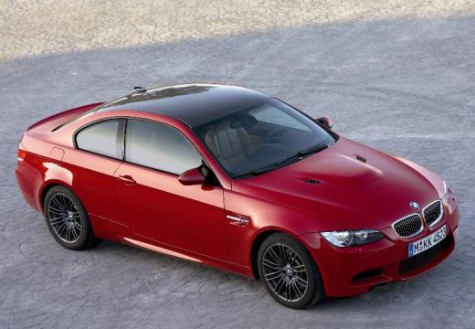 BMW Seria 3 E92 I coupe czerwony jasny przedni prawy