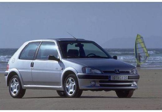 PEUGEOT 106 II hatchback silver grey przedni prawy