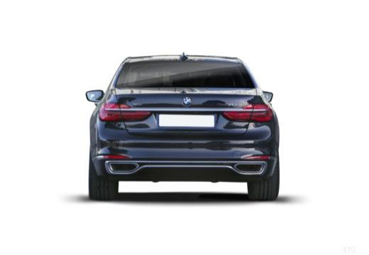 BMW Seria 7 sedan tylny