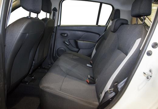 DACIA Sandero II hatchback wnętrze