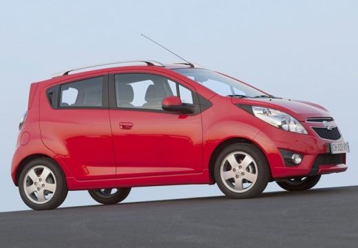 CHEVROLET Spark II hatchback czerwony jasny przedni prawy