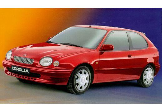 Toyota Corolla IV hatchback czerwony jasny przedni lewy