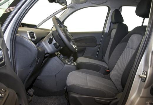 CITROEN C3 Picasso II hatchback silver grey wnętrze