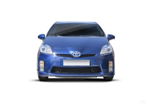 Toyota Prius II hatchback niebieski jasny przedni