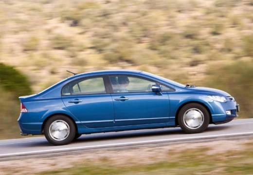 HONDA Civic VI sedan niebieski jasny boczny prawy