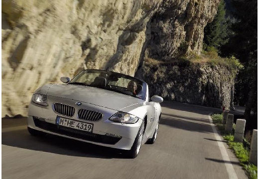 BMW Z4 E85 II roadster silver grey przedni lewy