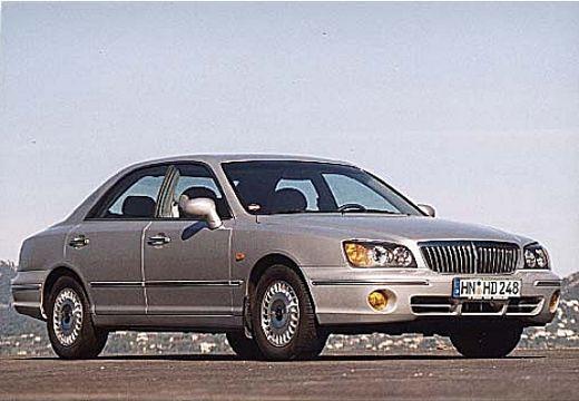 HYUNDAI XG sedan silver grey przedni prawy