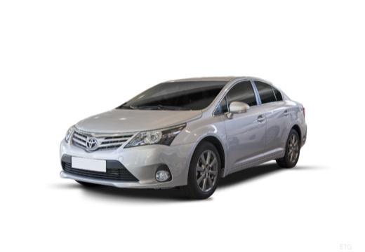 Toyota Avensis sedan silver grey przedni lewy