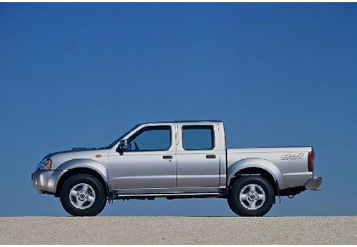 NISSAN Pick Up pickup silver grey boczny lewy