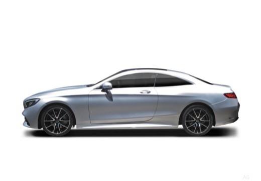 MERCEDES-BENZ S Klasa Coupe coupe boczny lewy