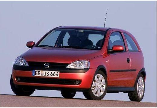 OPEL Corsa C I hatchback czerwony jasny przedni lewy