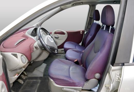 FIAT Multipla I kombi wnętrze