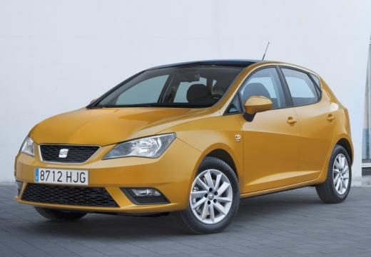 SEAT Ibiza VI hatchback żółty przedni lewy