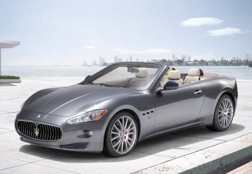 MASERATI Grancabrio kabriolet silver grey