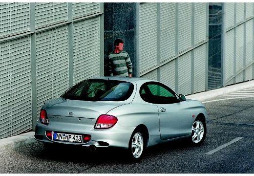 HYUNDAI Coupe II coupe silver grey tylny prawy