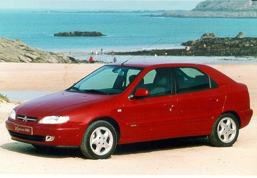 CITROEN Xsara I hatchback czerwony jasny przedni lewy