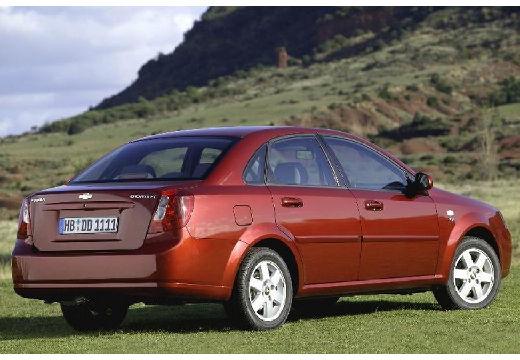 CHEVROLET Lacetti sedan bordeaux (czerwony ciemny) tylny prawy