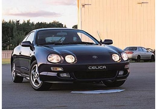 Toyota Celica coupe czarny przedni prawy