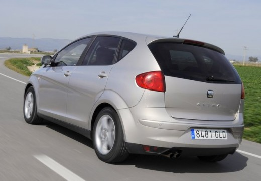 SEAT Altea II hatchback silver grey tylny lewy