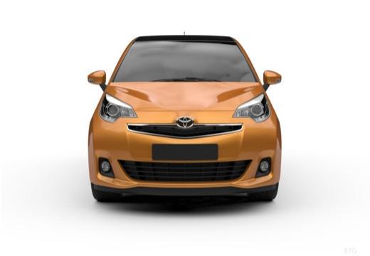 Toyota Verso-S hatchback przedni