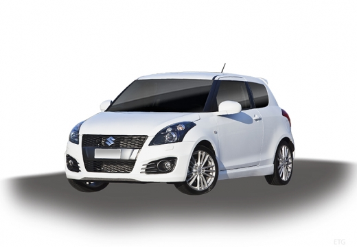 SUZUKI Swift III hatchback biały