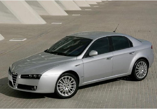 ALFA ROMEO 159 I sedan silver grey przedni lewy