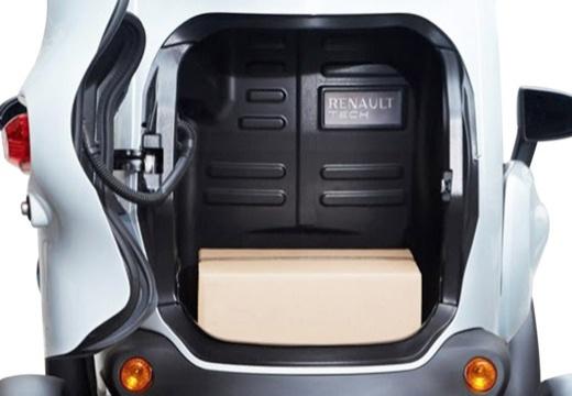 RENAULT Twizy hatchback przestrzeń załadunkowa