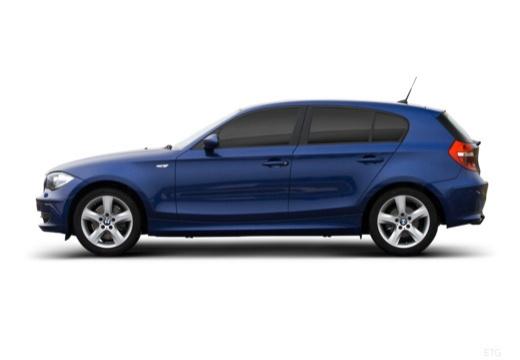BMW Seria 1 E87 II hatchback boczny lewy