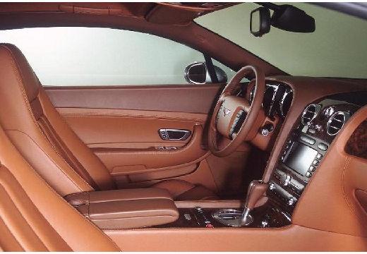 BENTLEY Continental coupe wnętrze