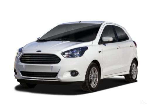 FORD Ka+ hatchback biały przedni lewy