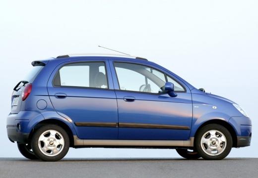 CHEVROLET Spark I hatchback niebieski jasny tylny prawy