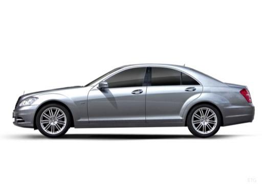 MERCEDES-BENZ Klasa S W 221 II sedan silver grey boczny lewy