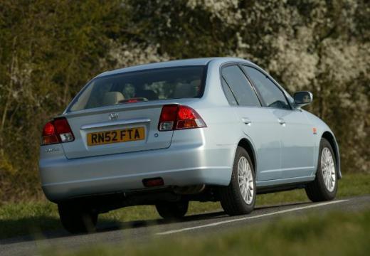 HONDA Civic IV sedan silver grey tylny prawy