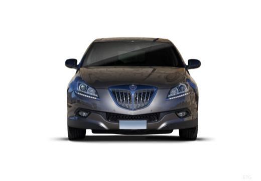 LANCIA Delta II hatchback szary ciemny przedni