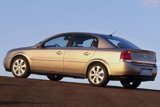 OPEL Vectra sedan silver grey tylny lewy