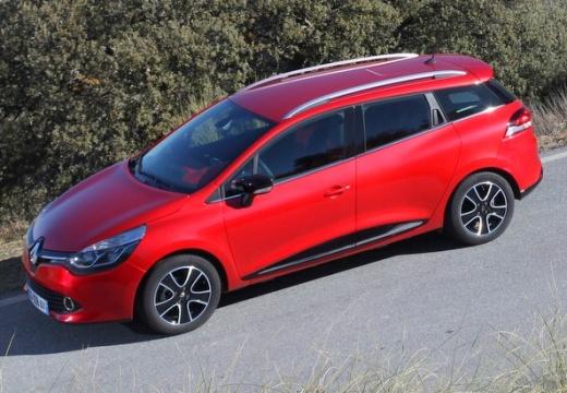 RENAULT Clio IV Grandtour I kombi czerwony jasny przedni lewy
