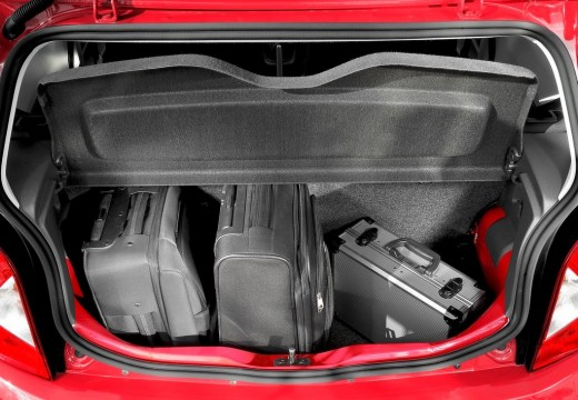 SEAT Mii I hatchback przestrzeń załadunkowa