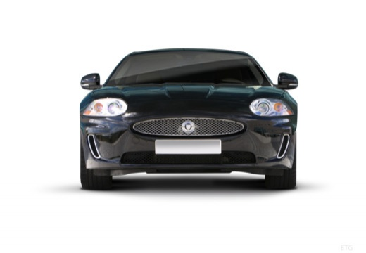 JAGUAR XK Convertible II kabriolet czarny przedni