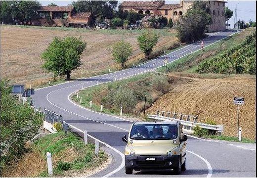FIAT Multipla I kombi żółty przedni