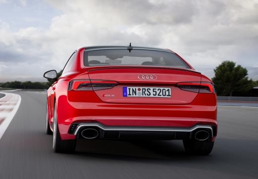 AUDI A5 III coupe czerwony jasny tylny