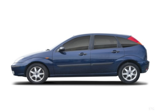 FORD Focus II hatchback boczny lewy