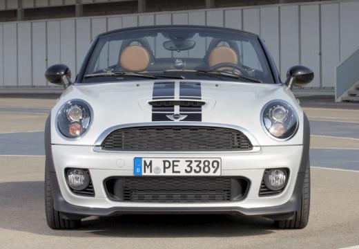 MINI [BMW] roadster silver grey przedni