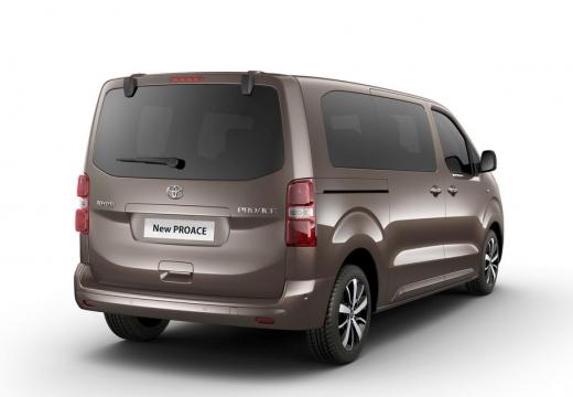 Toyota Proace Verso kombi mpv brązowy tylny prawy