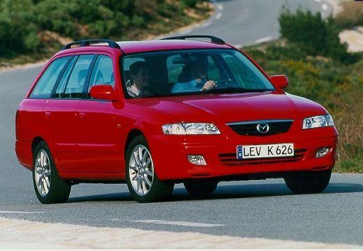 MAZDA 626 IV kombi czerwony jasny przedni prawy